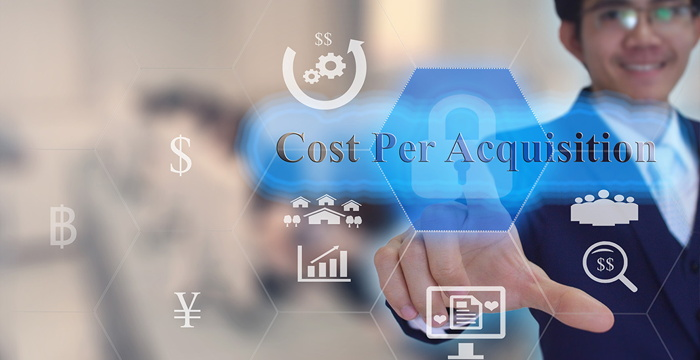 Graphic - Acquisition cost concept- Source - Hotelogix