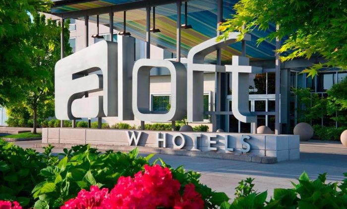 Aloft Portland, Maine - Entrance