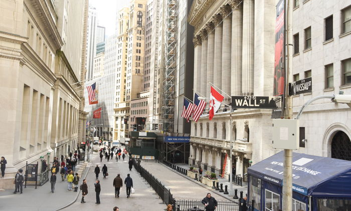 Wall Street in NYC - Source WTTC