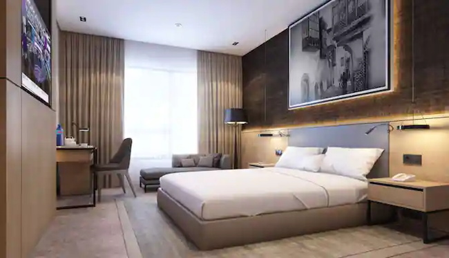 A Radisson hotel room