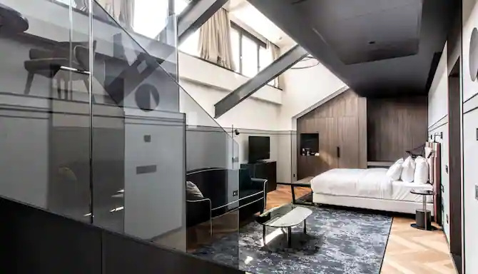 Guestroom at the Radisson Collection Hotel, Palazzo Touring Club Milan