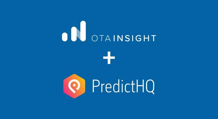 OTA Insight and PredictHQ logos