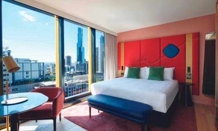 Habitación en un alojamiento de TFE Hotels Melbourne