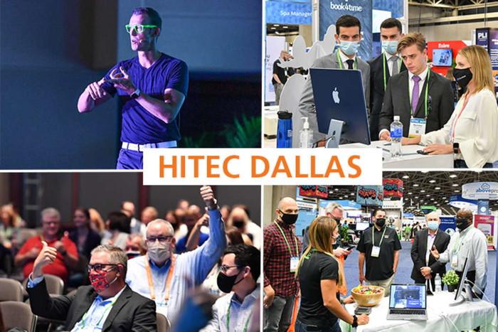 Collage de fotos de HITEC Dallas - fuente HFTP
