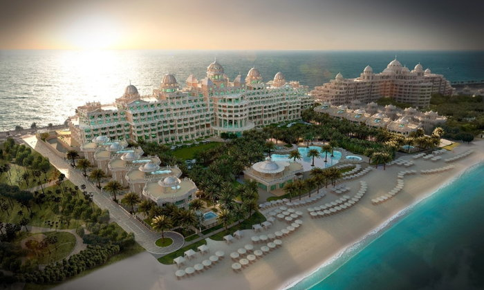 Raffles The Palm Dubai - Aerial view