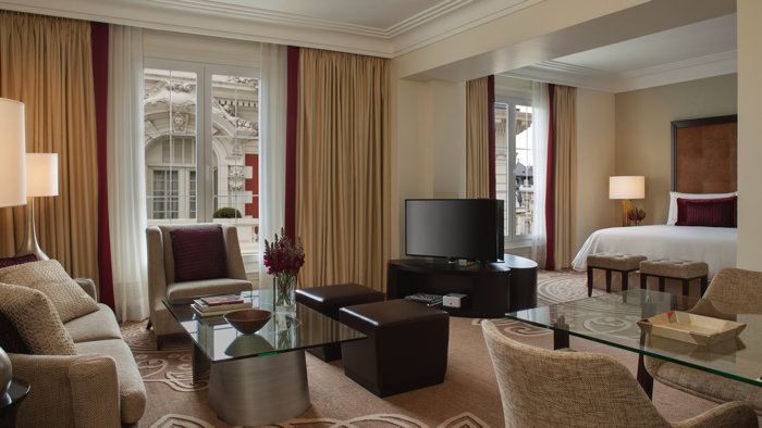 Guestroom at the Four Seasons Hotel Buenos Aires