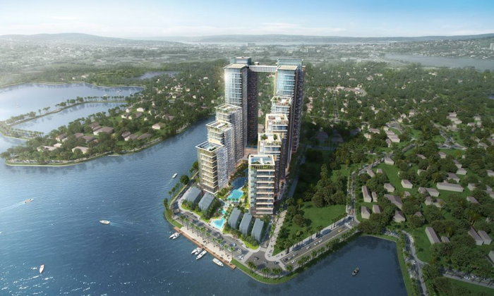 Rendering of the Tay Ho View Complex