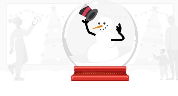Christmas illustration - Source PwC
