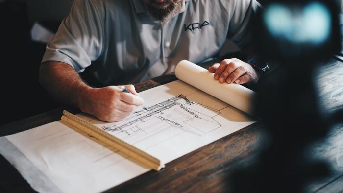 Architect at work - Unsplash