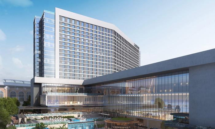 Representación del nuevo Loews Arlington Hotel and Arlington Convention Center